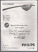 PHILIPS 14pt6441/37om Operating Manuals