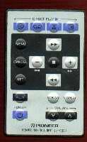 PIONEER cuxc004 Remote Controls