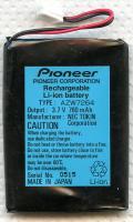 PIONEER AZW7264 Batteries