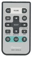 PIONEER cxb8744 Remote Controls