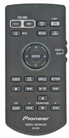 PIONEER cdr33 Remote Controls