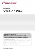 VSX1124KOM