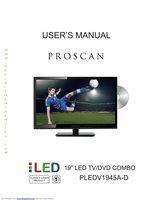 Proscan pledv2488acom Operating Manuals