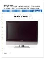 Polaroid 2006 lcdtv models serviceom Operating Manuals