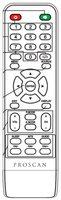 Proscan pled2435ae Remote Controls