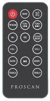 Proscan PSB3713Brem Remote Controls