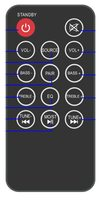Proscan PSB3713OP-REM Remote Controls