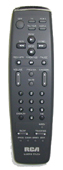 RCA vr658hf Remote Controls