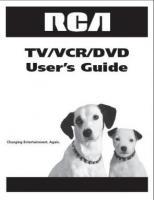 RCA b27tf680om Operating Manuals