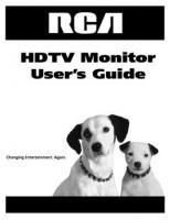 RCA d52w17om Operating Manuals