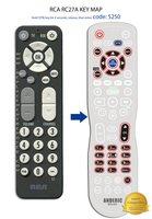 RCA RC27A Digital TV Tuner Converter Box Remote Control