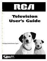 RCA F19426OM Operating Manuals