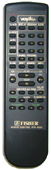 SANYO fvh4505 Remote Controls