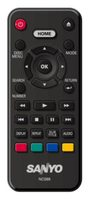 SANYO nc088 Remote Controls