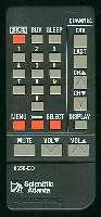 SCIENTIFIC-ATLANTA 8650eo Remote Controls