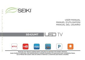 SEIKI se42umtom Operating Manuals