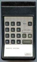 SEARS 3150176fxh Remote Controls