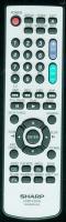 SHARP ga480wjsa Remote Controls