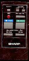 SHARP rrmcg0086gesa Remote Controls