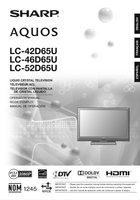 Buy SHARP GA724WJSA -RRMCGA724WJSA TV Remote Control