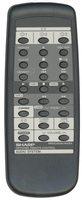 SHARP rrmcg0057awsa Remote Controls