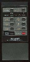 SHARP rrmcg0072afsa Remote Controls