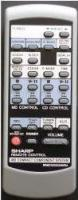 SHARP rrmcg0208awsa Remote Controls