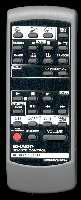 SHARP g0219awsa Remote Controls