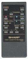 SHARP g0336ge Remote Controls