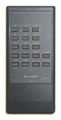 SHARP g0530cesa Remote Controls