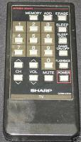SHARP rrmcg0684cesa Remote Controls