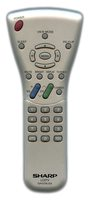 SHARP GA102WJSA Remote Controls