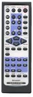 SHARP rrmcga159awsa Remote Controls