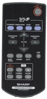 SHARP rrmcga235awsa Remote Controls