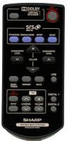 SHARP rrmcga251awsa Remote Controls