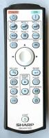 SHARP rrmcga444wjsa Remote Controls
