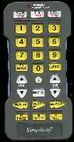 SIMPLICITY RTU27A/B Remote Controls