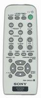 SONY rmsr231 Remote Controls