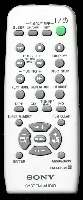 SONY rmsep707 Remote Controls
