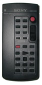 SONY rmt817 Remote Controls