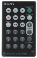 SONY rmtcm1 Remote Controls