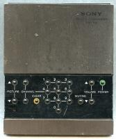 SONY rm705 Remote Controls