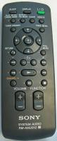 SONY rmamu012 Remote Controls