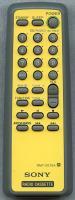 SONY rmtce75a/lic/set/yellow Remote Controls