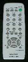 SONY rmscl10 Remote Controls