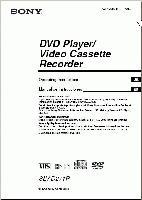 SONY slvd271pom Operating Manuals