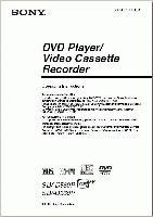 SONY slvd360pom Operating Manuals
