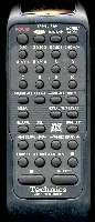 TECHNICS RAKSL171WH Remote Controls