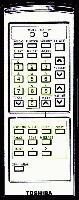 TOSHIBA trx1800r Remote Controls