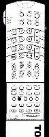 TOSHIBA ct9721 Remote Controls